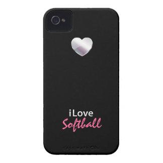 Cute Softball iPhone 4 Case