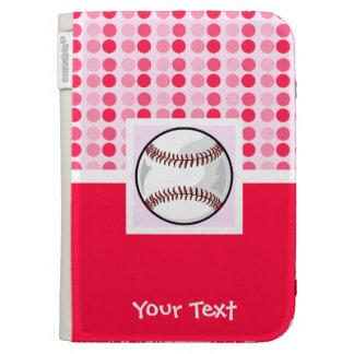 Cute Softball Kindle Folio Cases