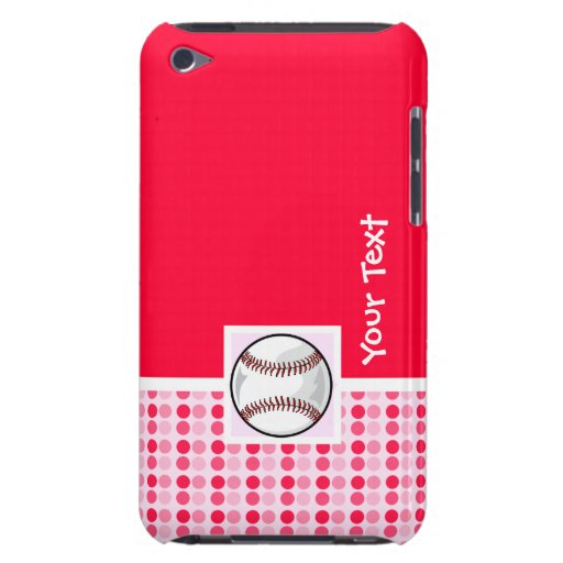 Cute Softball iPod Touch Case-Mate Case