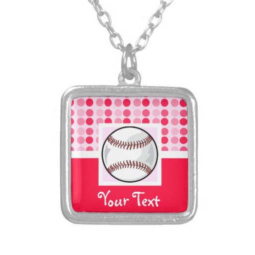 Cute Softball Necklaces