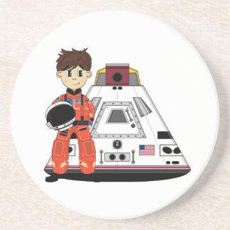 Cute Spaceman Coaster