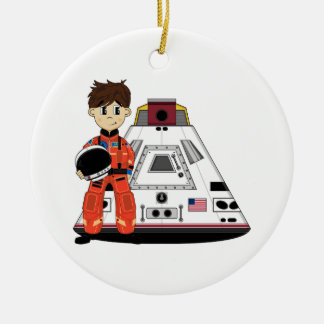 Cute Spaceman Ornament