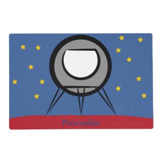 Cute Spaceship Placemat