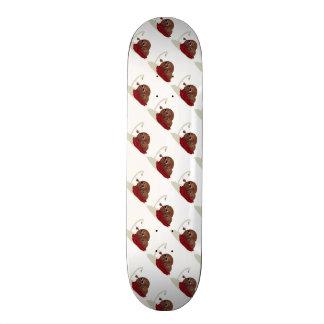 Cute Spaghetti Meeting Meatballs Skateboard
