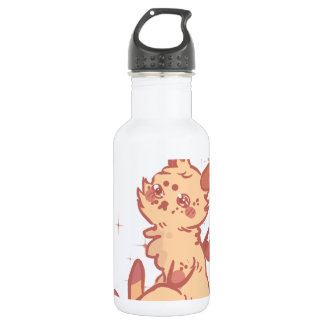 Cute Sparkling Rabbit (closeup) 18oz Water Bottle