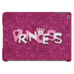 Cute Sparkly Hot Pink Princess Glitter Case For iPad Air