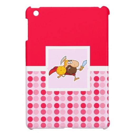 Cute Spartan Gladiator iPad Mini Cover