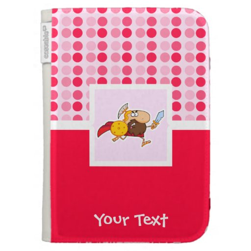 Cute Spartan Gladiator Kindle 3 Covers