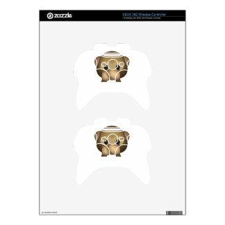 Cute Speak No Evil Monkey Emoji Xbox 360 Controller Skins