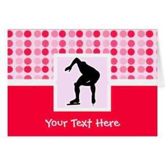 Cute Speed Skater Card