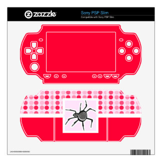 Cute Spider Decal For The PSP Slim