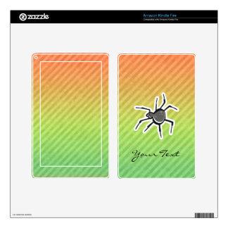Cute Spider Design Skins For Kindle Fire