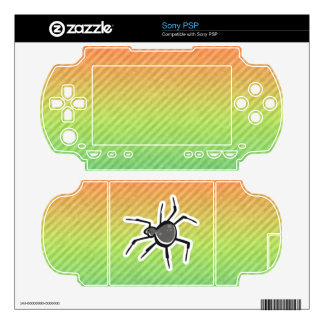 Cute Spider Design Skins For The PSP