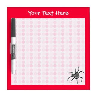 Cute Spider Dry-Erase Board