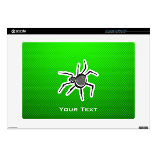 Cute Spider; Green Skins For Laptops