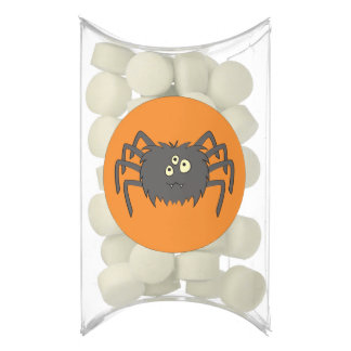 Cute Spider in Black Chewing Gum Favors