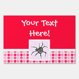 Cute Spider Lawn Sign
