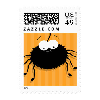 Cute Spider Novelty Halloween Postage | Small