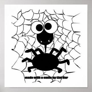 cute spider print