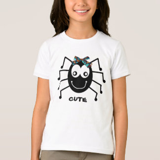 """Cute"" Spider T-shirt for Girls"