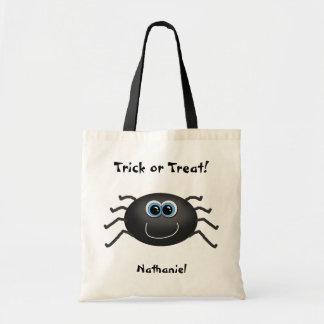 Cute Spider Trick or Treat Tote Bag