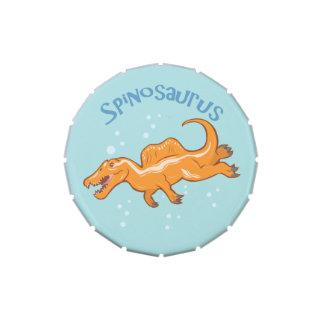 Cute Spinosaurus Candy Tin