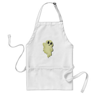 Cute Spook Ghost Adult Apron