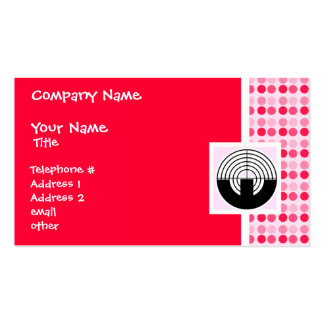 Cute Sport Shooting Double-Sided Standard Business Cards (Pack Of 100)