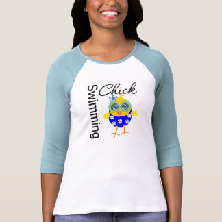 Cute Sporty Swimming Chick Shirt