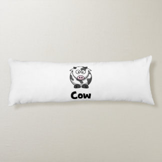 Cute Spotted Cow Body Pillow