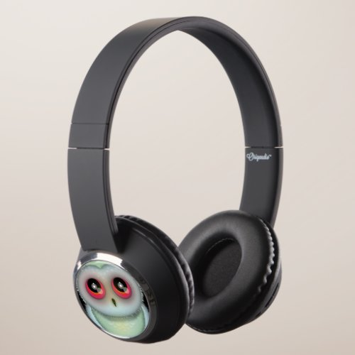 Cute Spotted Owl Headphones