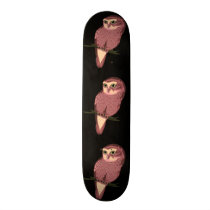 Cute Spotted Owl Skateboard Deck