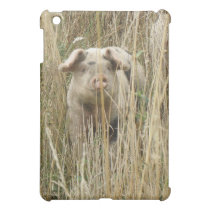 Cute Spotty Pig  iPad Mini Cover