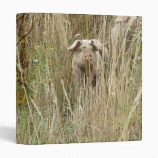 Cute Spotty Pig Photograph Album Binder