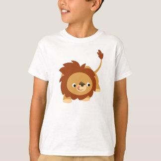 Cute Sprightly Cartoon Lion Children T-Shirt
