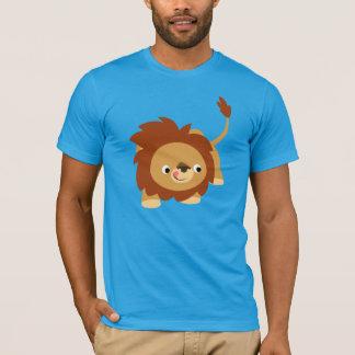 Cute Sprightly Cartoon Lion T-Shirt