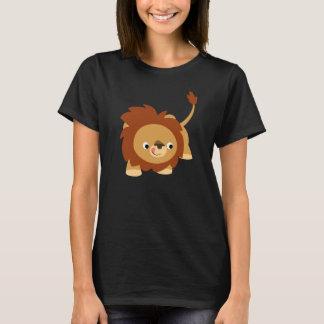 Cute Sprightly Cartoon Lion Women T-Shirt