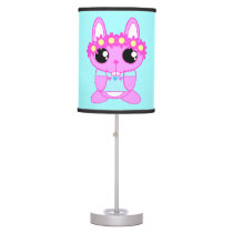 Cute Spring Bunny Rabbit Desk Lamp