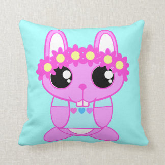 Cute Bunny Pillow : Kawaii Bunny Pillows - Decorative & Throw Pillows Zazzle