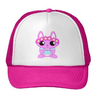 Cute Spring Bunny Rabbit Trucker Hat