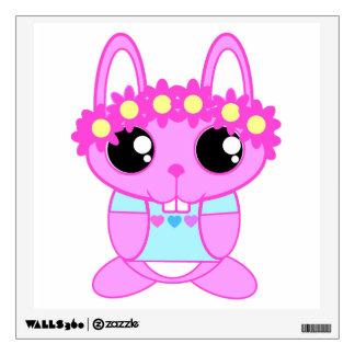 Cute Spring Bunny Rabbit Wall Sticker
