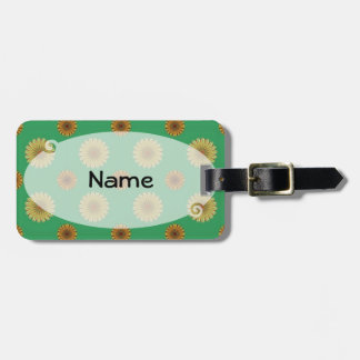 Cute Spring Daisy Pattern Luggage Tags