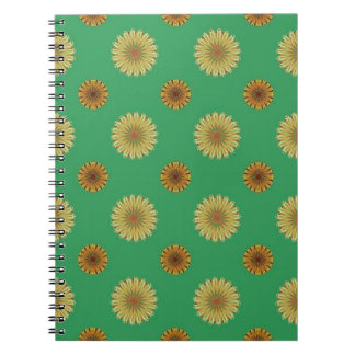 Cute Spring Daisy Pattern Notebooks