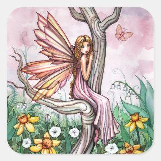 Cute Spring Flower Fairy Stickers