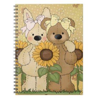 Cute Spring Friends notebook