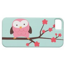 Cute Spring Owl iPhone SE/5/5s Case