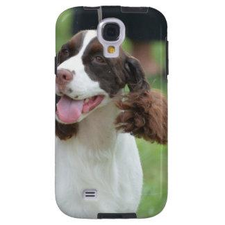 Cute Springer Spaniel Galaxy S4 Case