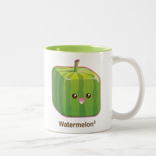 Cute Square Watermelon Coffee Mug