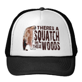 Cute SQUATCH IN THESE WOODS - Finding Bigfoot Gear Trucker Hat