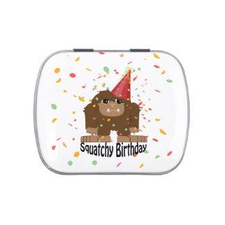 Cute Squatchy Birthday Bigfoot Candy Tin